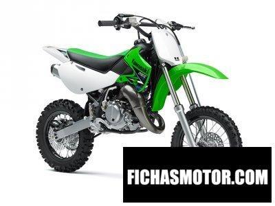 Ficha técnica Kawasaki kx 65 2014
