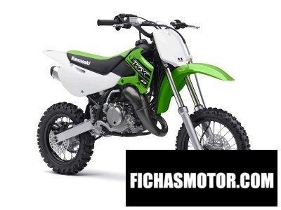 Ficha técnica Kawasaki kx 65 2015