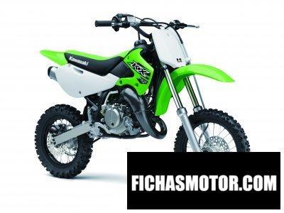 Ficha técnica Kawasaki kx 65 2016