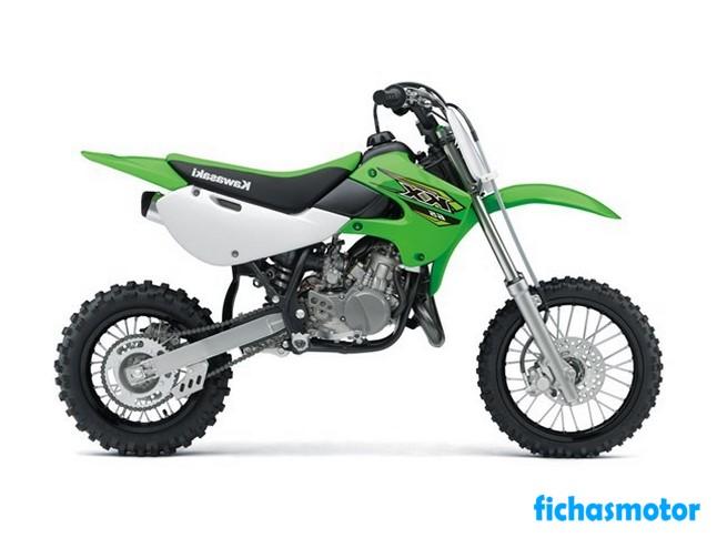 Ficha técnica Kawasaki KX 65 2019