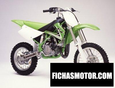 Imagen moto Kawasaki kx 85 año 2002
