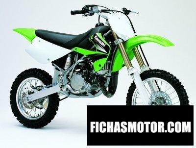 Imagen moto Kawasaki kx 85 año 2004