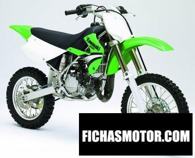 Imagen moto Kawasaki kx 85 año 2005
