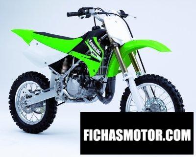 Imagen moto Kawasaki kx 85 año 2006