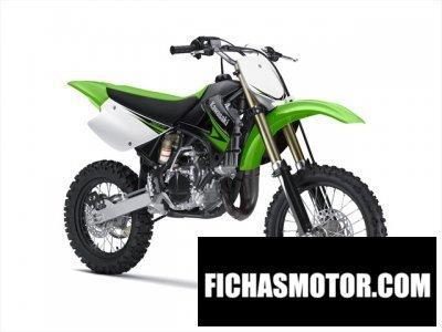 Imagen moto Kawasaki kx 85 año 2010