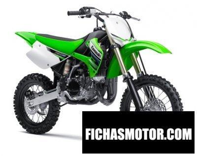 Ficha técnica Kawasaki kx 85 2012