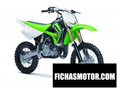 Ficha técnica Kawasaki kx 85 2013