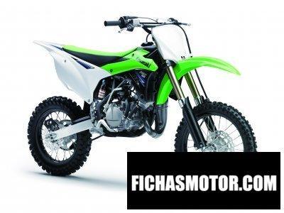Ficha técnica Kawasaki kx 85 2014