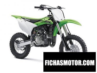 Ficha técnica Kawasaki kx 85 2016