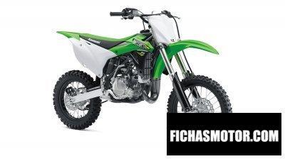 Imagen moto Kawasaki kx 85-i año 2018