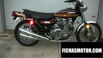 Ficha técnica Kawasaki kx 900 1975