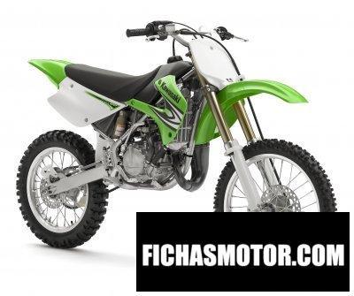 Ficha técnica Kawasaki kx100 2008