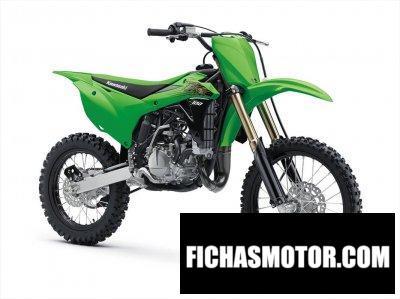 Ficha técnica Kawasaki KX100 2020