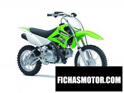 Imagen moto Kawasaki kx110 año 2013