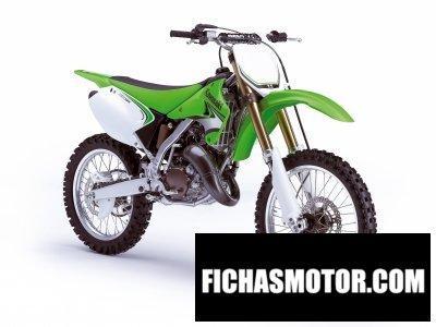 Ficha técnica Kawasaki kx125 2009