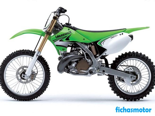 Imagen moto Kawasaki kx250 año 2007