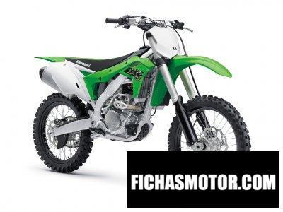 Ficha técnica Kawasaki KX250 2019