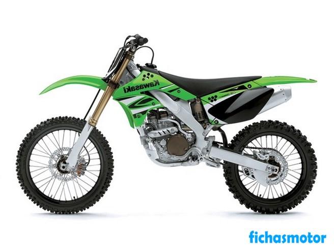 Ficha técnica Kawasaki kx250f 2008