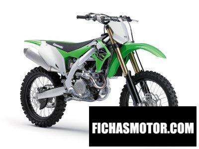 Ficha técnica Kawasaki KX450 2019