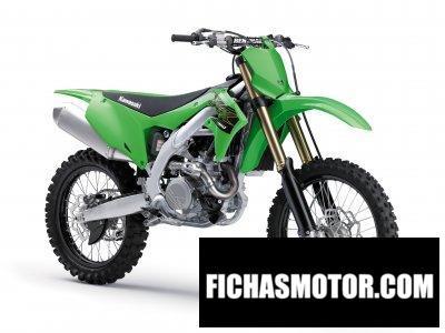Ficha técnica Kawasaki KX450 2020