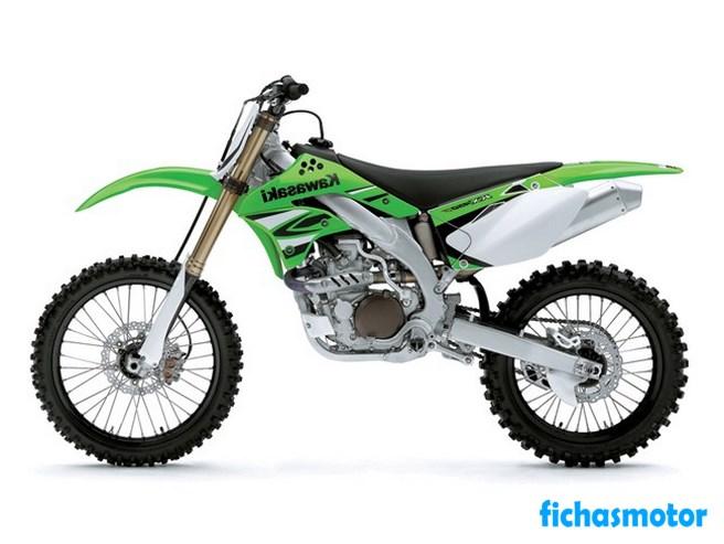 Ficha técnica Kawasaki kx450f 2008