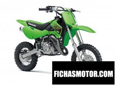 Ficha técnica Kawasaki KX65 2020
