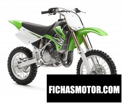 Imagen moto Kawasaki kx85 año 2008