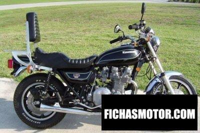 Imagen moto Kawasaki kz 1000 ltd año 1979