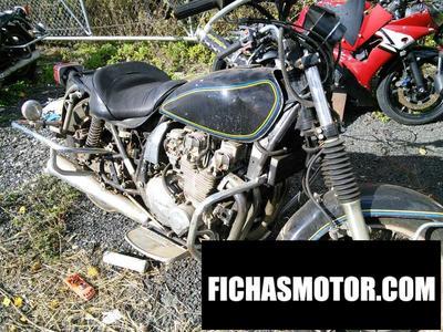 Ficha técnica Kawasaki kz 1000 p7 1988