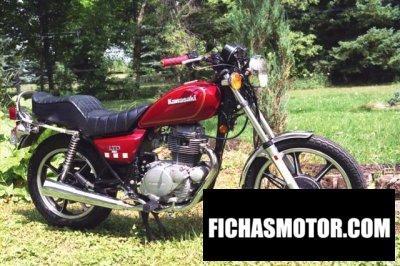 Imagen moto Kawasaki kz 250 ltd año 1980