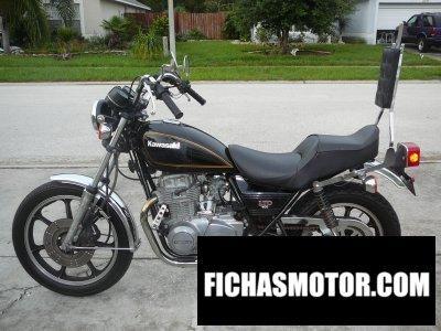 Imagen moto Kawasaki kz 400 h ltd año 1979