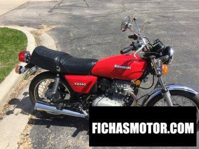 Imagen moto Kawasaki kz 440 b1 año 1980