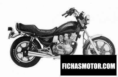 Ficha técnica Kawasaki kz 550 ltd 1984