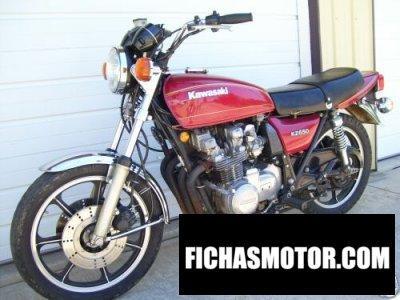 Ficha técnica Kawasaki kz 650 1977
