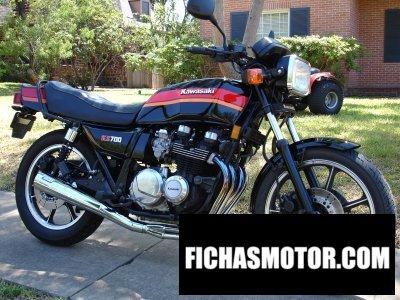 Ficha técnica Kawasaki kz 700-a1 1984