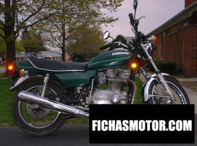Imagen moto Kawasaki kz 750 año 1978