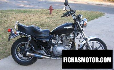 Imagen moto Kawasaki kz 750 k1 ltd año 1983