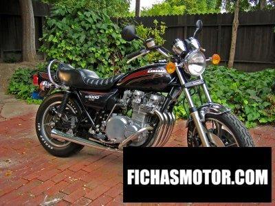 Imagen moto Kawasaki kz1000 ltd año 1977