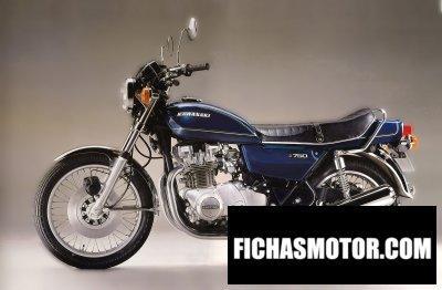 Ficha técnica Kawasaki kz750 1977