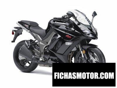 Ficha técnica Kawasaki ninja 1000 2011