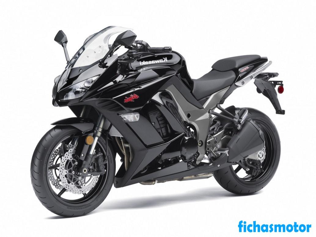 Imagen moto Kawasaki ninja 1000 año 2012
