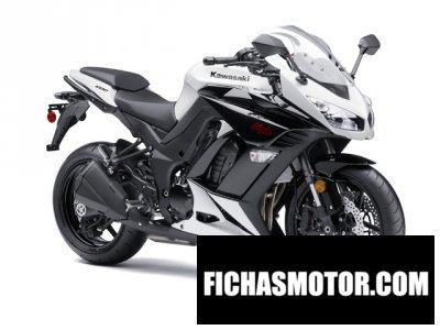 Imagen moto Kawasaki ninja 1000 año 2014