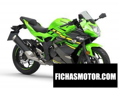 Imagen moto Kawasaki Ninja 125 año 2019