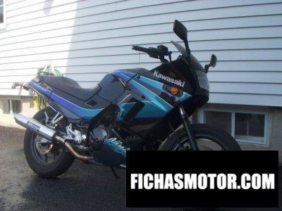 Imagen moto Kawasaki ninja 250 año 1994
