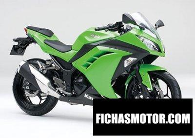 Imagen moto Kawasaki ninja 250 año 2015