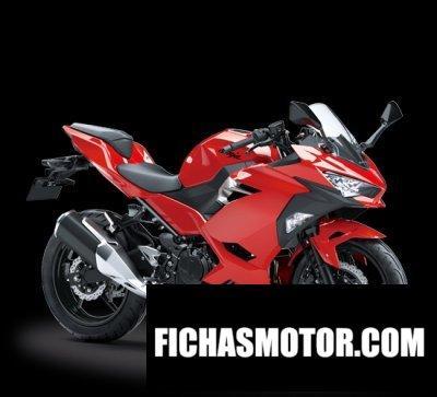 Imagen moto Kawasaki ninja 250 año 2018