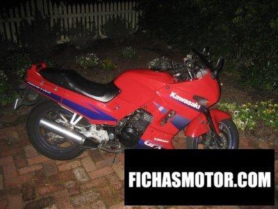 Ficha técnica Kawasaki ninja 250 r 1997
