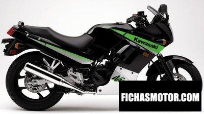 Imagen moto Kawasaki ninja 250 r año 2005