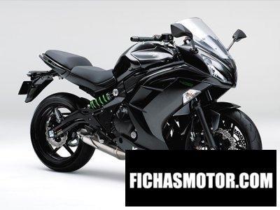 Ficha técnica Kawasaki ninja 400 2016