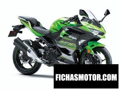 Ficha técnica Kawasaki ninja 400 2018